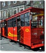 Cdmx Transit Acrylic Print