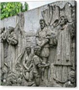 Cebu Carvings Acrylic Print