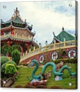 Cebu Taoist Temple Acrylic Print