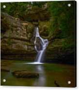 Cedar Falls 2 - Hocking Hills Ohio Waterfall Acrylic Print