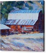 Cedar Hill Barn Acrylic Print