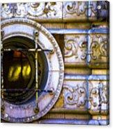 Cedar Hotel Round Window V3 Acrylic Print