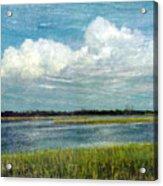 Cedar Key 1 Acrylic Print by Bob Senesac