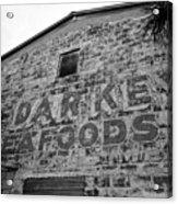 Cedar Key Sea Foods Acrylic Print by David Lee Thompson