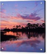 Cedar Key Sunset Acrylic Print
