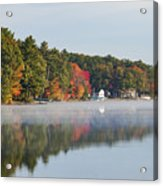 Cedar Lake Reflection Acrylic Print