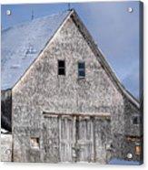 Cedar Shake Barn Acrylic Print