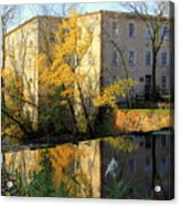 Cedarburg Wool Mill Acrylic Print