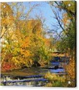 Cedarcreek Fall Acrylic Print