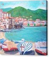 Cefalu In Sicily Acrylic Print