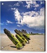 Cefn Sidan Beach 3 Acrylic Print