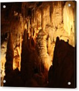 Ceiling Formations - Cave Acrylic Print