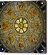 Ceiling Of The Berlin Cathedral Acrylic Print