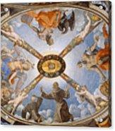Ceiling Of The Chapel Of Eleonora Of Toledo Acrylic Print