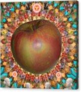 Celebrate The Apple Acrylic Print