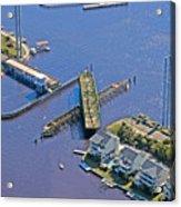 Celebrate The Swing Bridge Acrylic Print