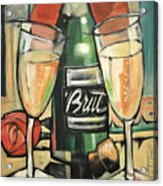 Celebrate With Bubbly Acrylic Print