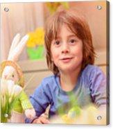 Celebrating Easter Holiday Acrylic Print