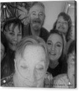 Celebrating With Friends Acrylic Print