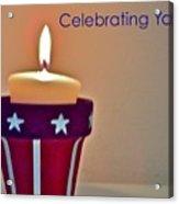 Celebrating You Acrylic Print
