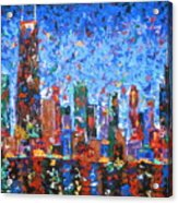 Celebration City Acrylic Print