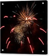 Celebrations In Red Acrylic Print