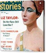 Celebrity Magazine, 1962 Acrylic Print by Granger