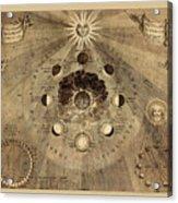 Celestial Map 1710b Acrylic Print