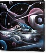 Celestial Mountain Acrylic Print