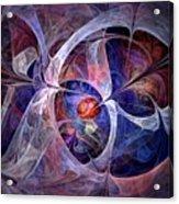 Celestial North - Fractal Art Acrylic Print