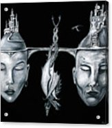 Celestial Unity Acrylic Print