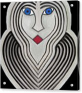 Celestial Woman Acrylic Print