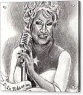 Celia Cruz Acrylic Print