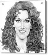 Celine Dion Acrylic Print
