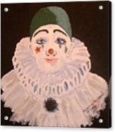Celine The Clown Acrylic Print