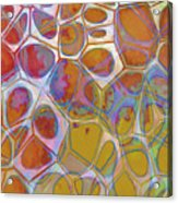 Cell Abstract 14 Acrylic Print