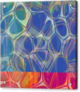 Cell Abstract One Acrylic Print