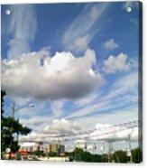 Cell Sky Acrylic Print