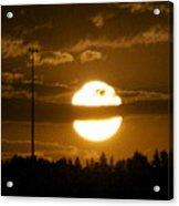 Cell Tower Moon Acrylic Print