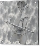 Cello In The Clouds Acrylic Print