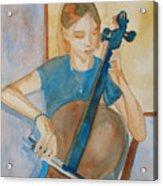 Cello Practice Iv Acrylic Print