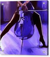 Cello Acrylic Print