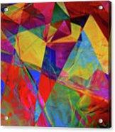 Cellophane Geometry Acrylic Print