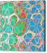 Cells 11 - Abstract Painting  Acrylic Print