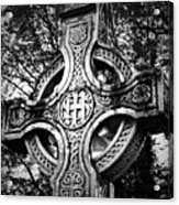 Celtic Cross Detail Killarney Ireland Acrylic Print