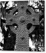 Celtic Cross In Emmet Park Acrylic Print