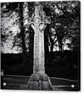 Celtic Cross In Killarney Ireland Acrylic Print by Teresa Mucha