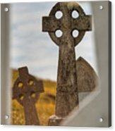Celtic Crosses Acrylic Print
