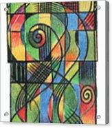 Celtic Cruciform  Acrylic Print