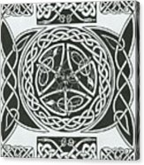 Celtic Design Acrylic Print
